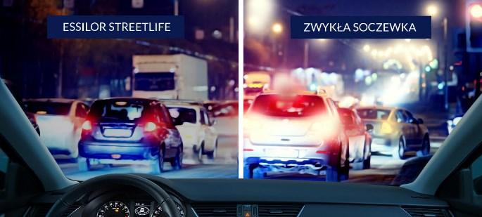 szkła dla kierowców essilor streetlife